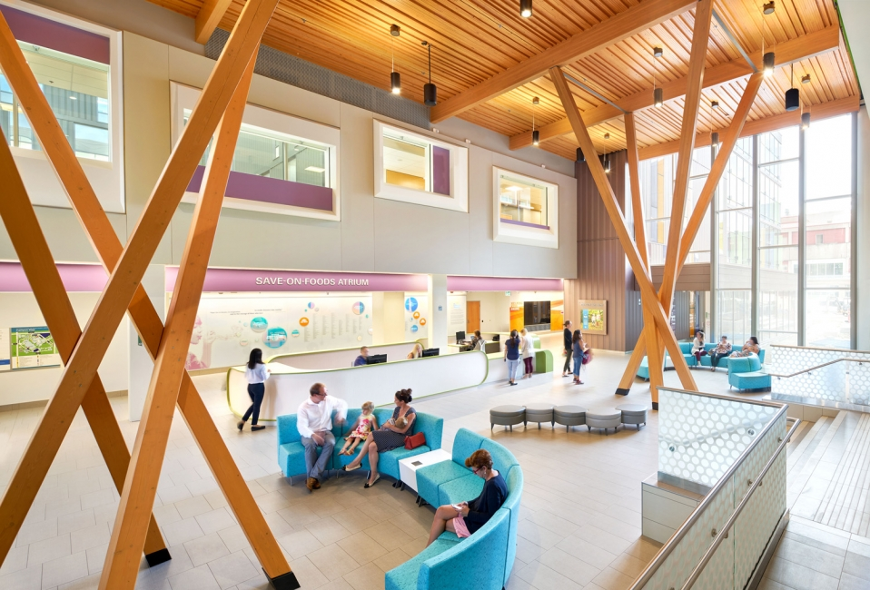 BC Childrens Hospital Acute Care Centre Inside