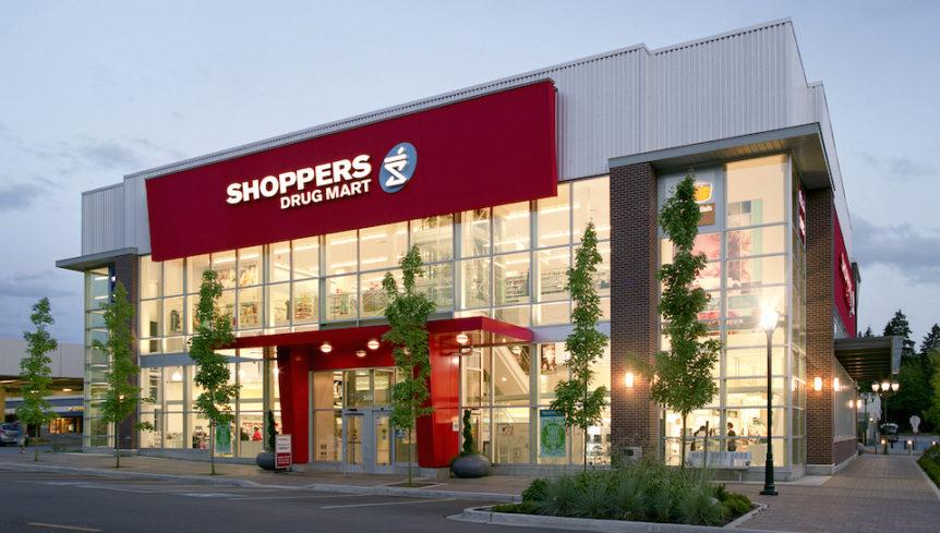 Shoppers Drugmart Building on Park Royal South