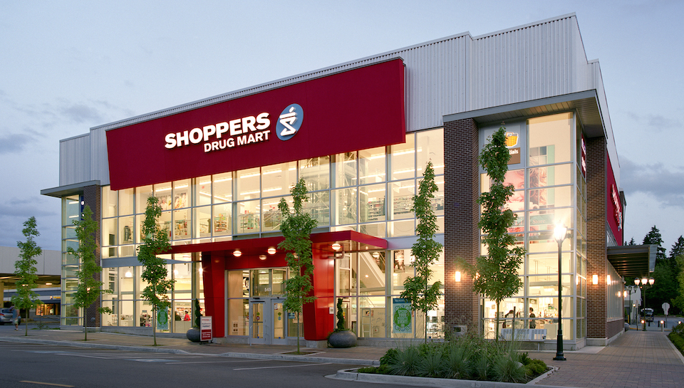 Shoppers Drugmart Building on Park Royal South