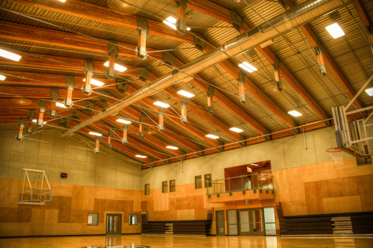 UCLUELET First Nations Community Centre Gym Ceiling