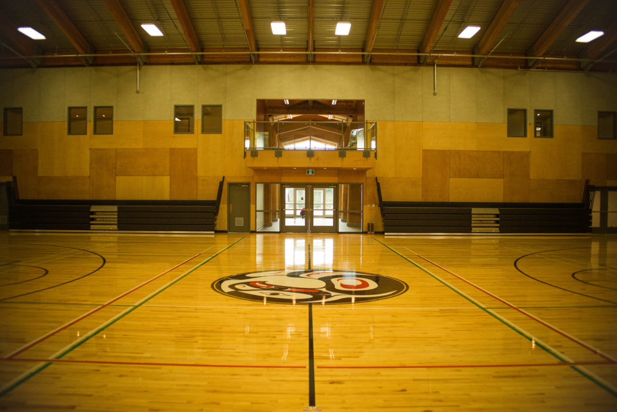 UCLUELET First Nations Community Centre Gym